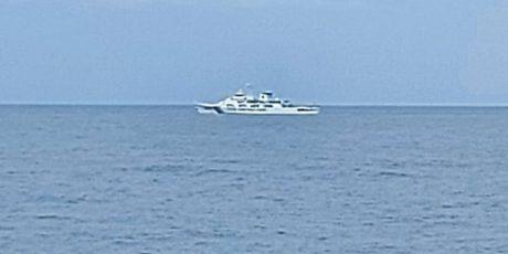 Kapal China Menolak Tinggalkan Natuna Diusir Bakamla