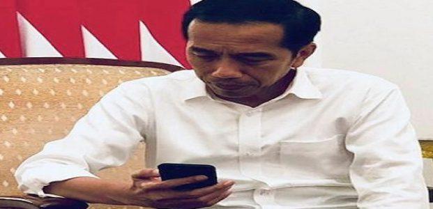 Jokowi Minta DPR Revisi UU ITE